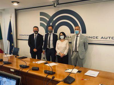 Fedriga incontra Conferenza Presidenti Consigli Regionali - 08.07.2021