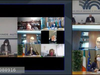 Pandemia: incontro Governo - Regioni 25.02.2021