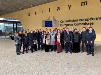 Bruxelles: visita di studio alla Commissione europea dirigenti e funzionari delle Regioni (30 e 31 ottobre 2019)