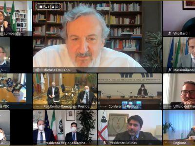 Eletto il Vicepresidente della Conferenza delle Regioni - Michele Emiliano - 09.04.2021