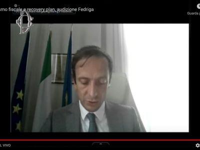 Federalismo fiscale: Audizione parlamentare Presidente Fedriga 22.09.2021