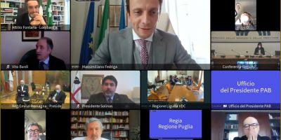 Eletto il Presidente della Conferenza delle Regioni - Massimiliano Fedriga - 09.04.2021