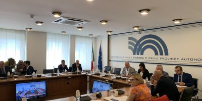 Conferenza Regioni 1 agosto 2019