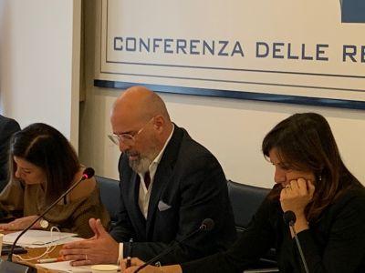 Conferenza Regioni 17/10/2019: incontro con ministro De Micheli