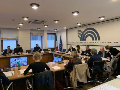 Conferenza Regioni 15/11/2019