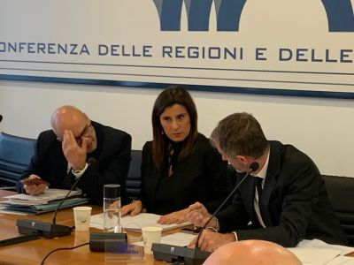 Conferenza Regioni 28/11/2019