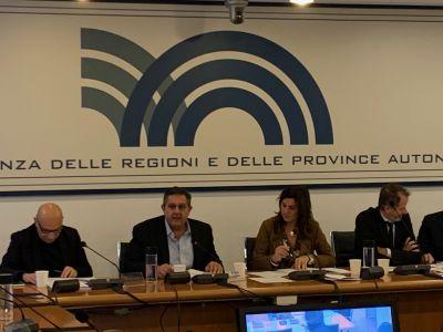 Conferenza Regioni 18/12/2019