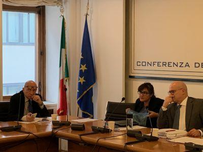 Conferenza Regioni 15/01/2020
