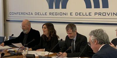 Conferenza Regioni 20/02/2020