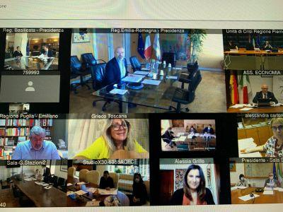Conferenza Regioni 07.05.2020