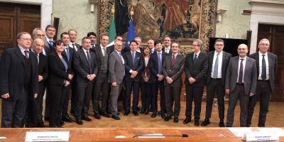 50 anni Regioni: Conferenza Stato-Regioni con Conte (foto di gruppo)