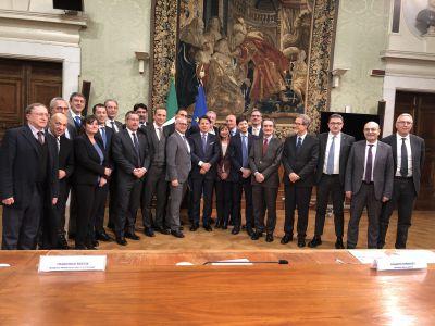 50 anni Regioni: Conferenza Stato-Regioni con Conte (15/01/2020)