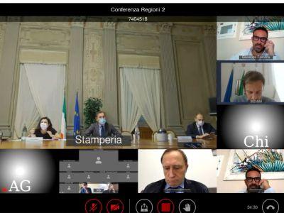 Incontro Regioni - Governo 7.11.2020