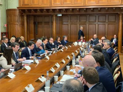 14.02.2020 - Tesei (Regioni) a Comitato Interministeriale Affari Europei