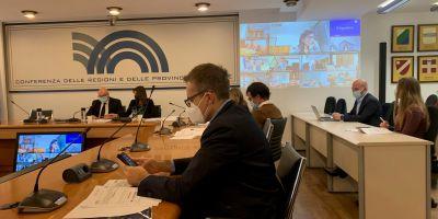 Conferenza Regioni 21.10.21